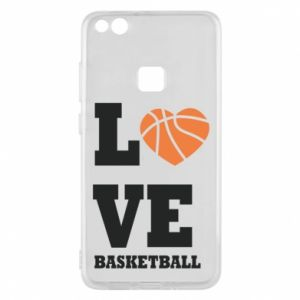 Huawei P10 Lite Case I love basketball