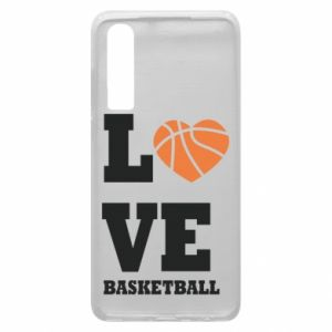 Huawei P30 Case I love basketball