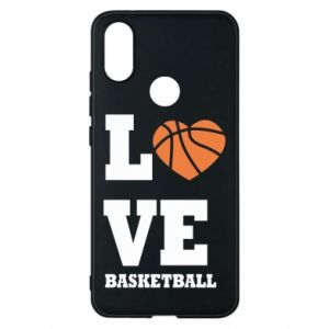 Xiaomi Mi A2 Case I love basketball