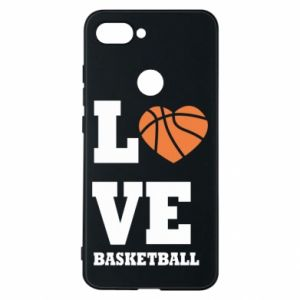 Xiaomi Mi8 Lite Case I love basketball
