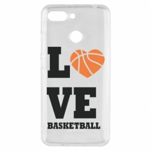 Xiaomi Redmi 6 Case I love basketball