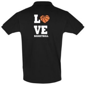 Men's Polo shirt I love basketball