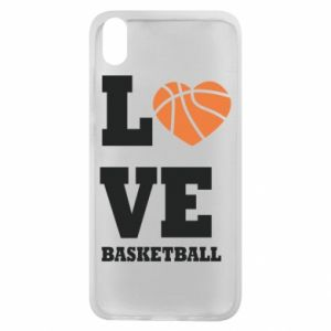 Xiaomi Redmi 7A Case I love basketball