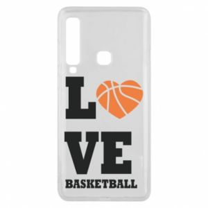 Samsung A9 2018 Case I love basketball