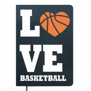Notepad I love basketball