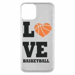 iPhone 11 Case I love basketball