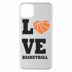 iPhone 11 Pro Max Case I love basketball