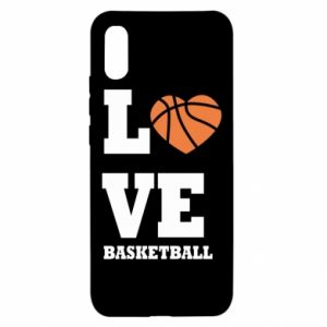 Xiaomi Redmi 9a Case I love basketball