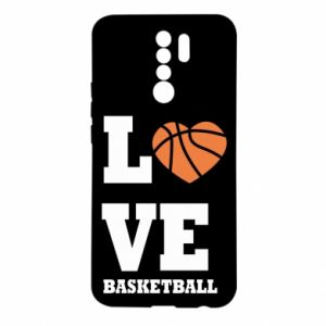Xiaomi Redmi 9 Case I love basketball