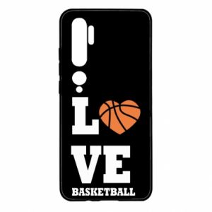 Xiaomi Mi Note 10 Case I love basketball