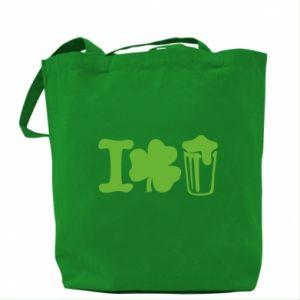 Bag I love beer St.Patrick 's Day - PrintSalon