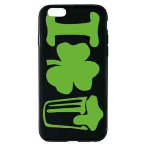Phone case for iPhone 6/6S I love beer St.Patrick 's Day - PrintSalon