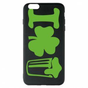 Phone case for iPhone 6 Plus/6S Plus I love beer St.Patrick 's Day - PrintSalon