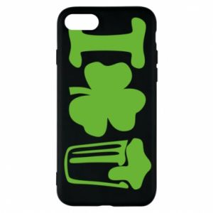 Phone case for iPhone 7 I love beer St.Patrick 's Day - PrintSalon