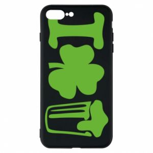 Phone case for iPhone 7 Plus I love beer St.Patrick 's Day - PrintSalon