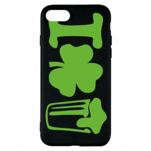 Phone case for iPhone 8 I love beer St.Patrick 's Day - PrintSalon
