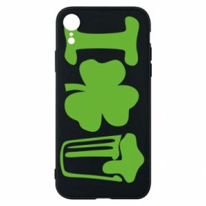 Phone case for iPhone XR I love beer St.Patrick 's Day - PrintSalon