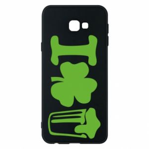 Phone case for Samsung J4 Plus 2018 I love beer St.Patrick 's Day - PrintSalon