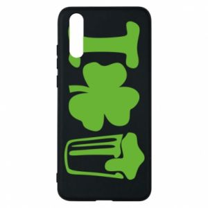 Phone case for Huawei P20 I love beer St.Patrick 's Day - PrintSalon