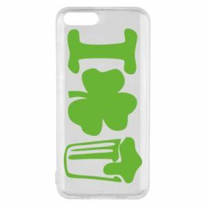 Phone case for Xiaomi Mi6 I love beer St.Patrick 's Day - PrintSalon