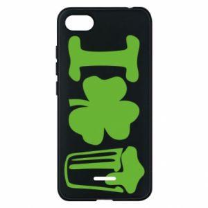 Phone case for Xiaomi Redmi 6A I love beer St.Patrick 's Day - PrintSalon