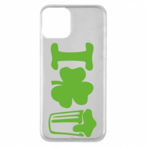 Phone case for iPhone 11 I love beer St.Patrick 's Day - PrintSalon