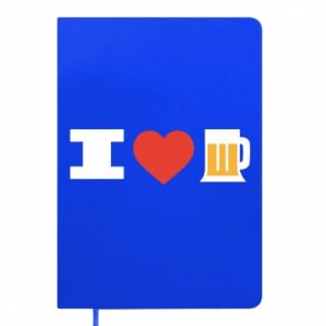 Notepad I love beer