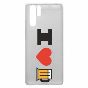 Huawei P30 Pro Case I love beer