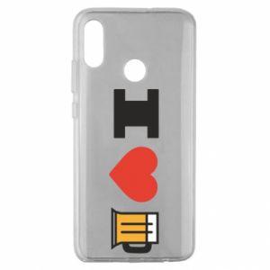 Huawei Honor 10 Lite Case I love beer