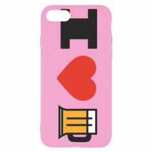 iPhone SE 2020 Case I love beer