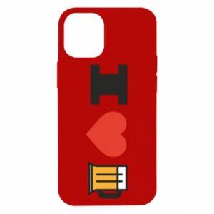 iPhone 12 Mini Case I love beer