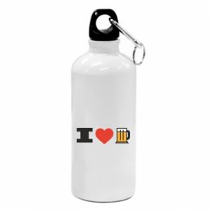 Water bottle I love beer