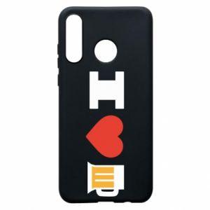 Huawei P30 Lite Case I love beer