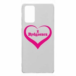 Samsung Note 20 Case I love Bydgoszcz