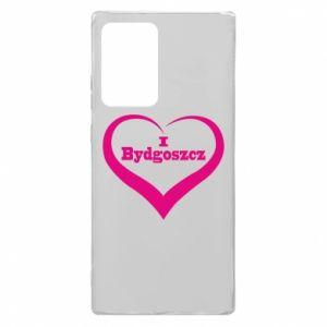 Samsung Note 20 Ultra Case I love Bydgoszcz