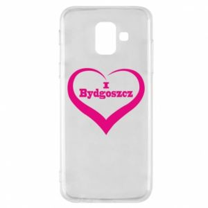 Phone case for Samsung A6 2018 I love Bydgoszcz