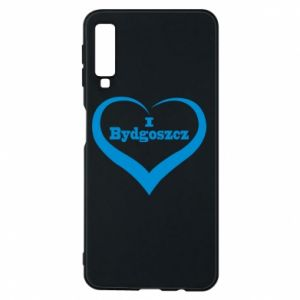 Phone case for Samsung A7 2018 I love Bydgoszcz