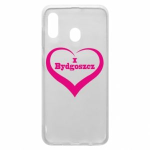 Phone case for Samsung A30 I love Bydgoszcz