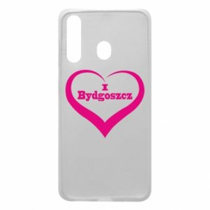 Phone case for Samsung A60 I love Bydgoszcz