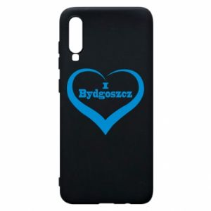 Phone case for Samsung A70 I love Bydgoszcz
