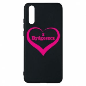 Phone case for Huawei P20 I love Bydgoszcz