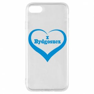 Phone case for iPhone 8 I love Bydgoszcz
