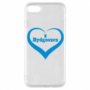 Etui na iPhone 8 I love Bydgoszcz