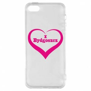 Phone case for iPhone 5/5S/SE I love Bydgoszcz