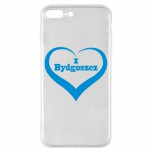 Phone case for iPhone 8 Plus I love Bydgoszcz