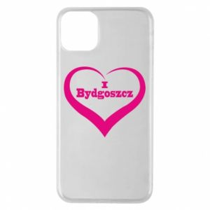 Phone case for iPhone 11 Pro Max I love Bydgoszcz