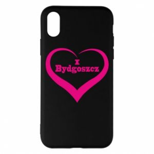 Phone case for iPhone X/Xs I love Bydgoszcz