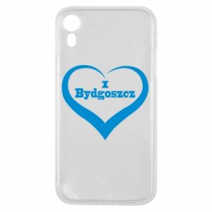 Phone case for iPhone XR I love Bydgoszcz
