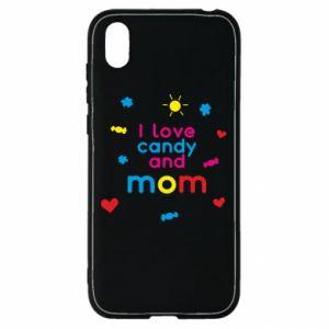 Etui na Huawei Y5 2019 I love candy and mom