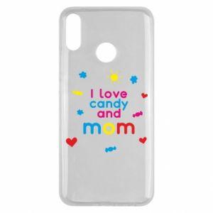 Etui na Huawei Y9 2019 I love candy and mom